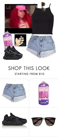"""""""Memorial Day cookout."""" by newtrillvibes ❤ liked on Polyvore featuring Levi's and NIKE"""