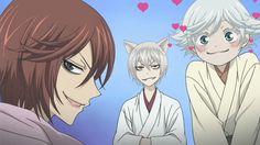 Hahaha Kurama , Tomoe &Mizuki<3