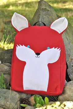 Toddler Backpack - Foxy. $35.00, via Etsy.