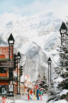 Experience Banff — Canada's legendary ski and snowboarding destination and mountain town. Places To Travel, Places To See, Travel Destinations, New Travel, Canada Travel, Holiday Travel, Solo Travel, Travel Tips, Banff Canada
