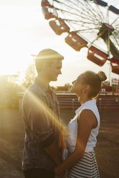 Sincerely, Kinsey: G + B   Shoot at the Fair- nice couple posing