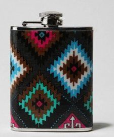 This could be considered one of the most offensive cases of the use of Navajo patterns. Urban Outfitters has grasped onto the Navajo trend, and they violated the law that states that you may not insinuate that something is made by Indigenous people if it is not. They decided that not only was the Navajo print appropriate for a pair of underwear, but also a flask. If they had known anything about the Navajo, they would know that the sale and consumption of alcohol is banned on Navajo…