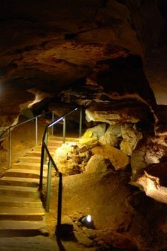 Alabaster Caverns State Park in northwest Oklahoma