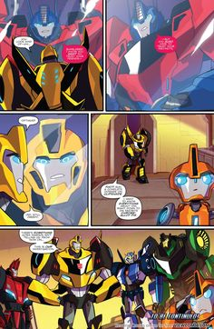 Transformers – Robots In Disguise Animated 02 (2015) | View Comic