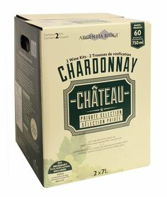 Argentia Ridge Chardonnay Wine Kit