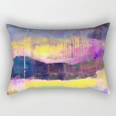 Landscape of soul Rectangular Pillow
