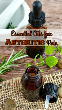 If you have arthritis pain, I am sure you may be looking for ways to ease the pain. Check out these Essential Oils for Arthritis Pain! http://reusegrowenjoy.com/essential-oils-for-arthritis-pain/