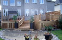 Large Decks Ottawa - designers and builders