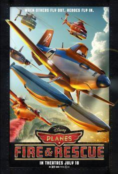 Planes: Fire & Rescue -- Stardust Drive In 07-28-2014