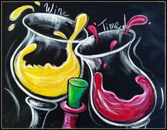 paint and sip ideas - Google Search