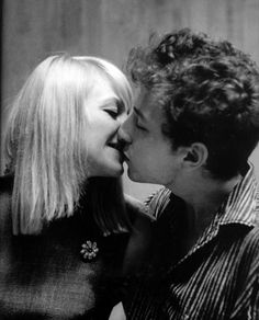"Bob Dylan and Mary Travers  ""This is Mary Travers from Peter, Paul & Mary. She has commented on this pic and said they were just good friends. At the time Dylan was in a relationship with Joan Baez. It is a great photo though"""