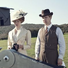Benedict Cumberbatch & Rebeca Hall
