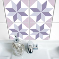 Hey, I found this really awesome Etsy listing at https://www.etsy.com/listing/180683719/polygon-01-tile-sticker-set-of-4
