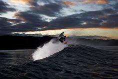 Amazing #Bodyboard pic on sunset