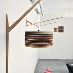 """Grit"" wall lighting for Milano 2016. #artandcraft #architects #custommade #design #designstudio #designermaker #exhibition #furniturdesign #gritfurniture #handmade #homestyle #italy #innovation #interiordesign #industrialdesign #joinery #lamp #lighting #lightingdesign #milano #oneofakind #oakwood #productdesign #styling #sandpaper #woodworking #triennalemilano #salonedelmobile #designweek #finetuning"