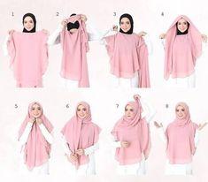 Khimar long hijab instant shawl   Etsy