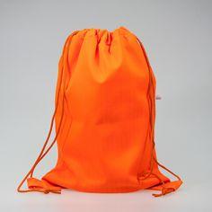 Worek NOŚ MNIE XL (pomarańczowy neonowy) - nosmnie - Plecaki i torby