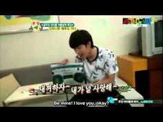 INFINITE's Woohyun singing Sherlock
