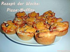 Rezept der Woche: Pizza Muffins