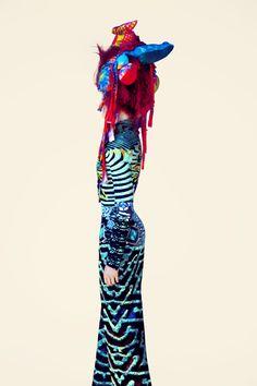 Mary Katrantzou, The Surrealist Ideal [img src: Erik Madigan Heck - maisondesprit.com]