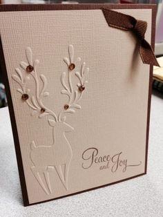 Embossing folder CHRISTMAS REINDEER - Darice in Crafts   eBay