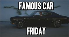 It's #FamousCarFriday! Can you name that car and the film which made it famous?