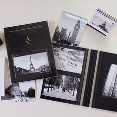 #photo#album#black#moment#record#travel#daily#eiffel#stationery#storage#포토앨범#사진#여행#기록#사진정리