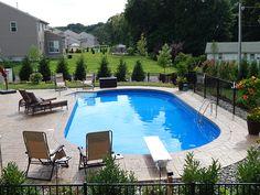 118 swimming pool shapes - page 39 > Homemytri. Backyard Pool Landscaping, Small Backyard Pools, Pool Fence, Swimming Pools Backyard, Pool Decks, Landscaping Ideas, Backyard Ideas, Small Pools, Landscaping Software