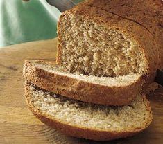 Pão Integral sem Glúten - Máquina de Pão