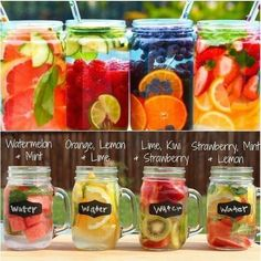 Detox drinks Health and Nutrition Clean flavored water weight loss Getränke Healthy Water, Healthy Detox, Healthy Smoothies, Healthy Drinks, Easy Detox, Smoothie Recipes, Snack Recipes, Food And Drinks, Healthy Food