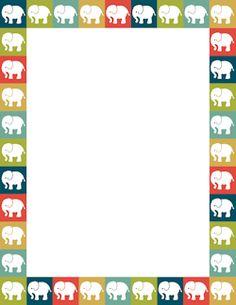 Elephant Border