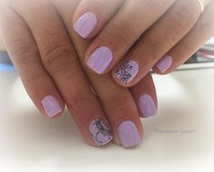 L'Easy Lac più richiesto in assoluto… ➡️➡️➡️➡️➡️➡️ EA… – Red Unicorn Manicure, Gel Nails, Easy, French Nails, Color Combos, Lilac, Nailart, Nail Designs, Glitter