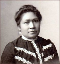 May Burton, Native American Wiyot, the only child saved from the Indian Island Massacre. ~j