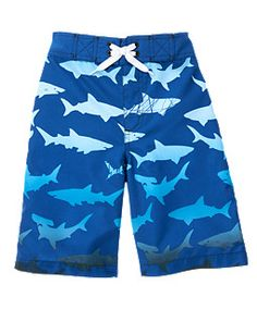 Ombre Shark Swim Trunk