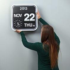 ThinkGeek :: Giant Flip Clock [www.thinkgeek.com]