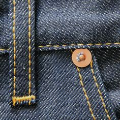 Rivets aren't just for decoration, they are made to be reinforcement on stress points of the denim, making them more durable.