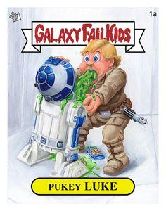 Galaxy Fail Kids - Pukey Luke