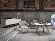 Floow hat seinen Namen aufgrund des schwebenden Gestells erhalten, das der Anrichte einen leichteren Ausdruck verleiht. Die Qualität ist hochwertig und das Design modern, aber dennoch klassisch. Gute Qualität kommt nie aus der Mode.