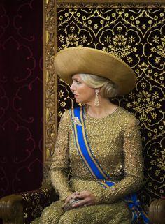 Koningin Máxima op Prinsjesdag. 17 september 2013.