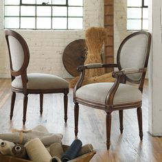 Image result for vanguard furniture chairs with round table