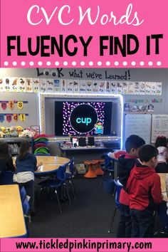 Cvc word fluency - CVC Words Fluency Find It – Cvc word fluency First Grade Reading, First Grade Classroom, Phonics Activities, Learning Activities, Reading Fluency Activities, Phonics Lessons, Teaching Reading, Reading Skills, Reading Intervention Classroom