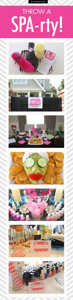 It's a SPA-rty! The Perfect Spa-Themed Soirée. I wat to do something like this for my mom this next Mother's Day! :D