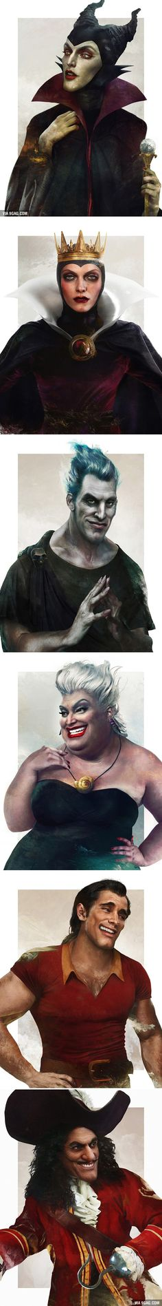 What Disney Villains Would Look Like In Real Life - 9GAG