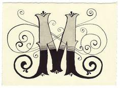 Day 142 • M • Handwritten Letters