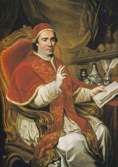 CLEMENTE XIV, PAPA (CLEMENS DECIMUS CUARTUS) Nombre original: Giovanni Vincenzo Antonio Ganganelli (Sant'Arcangelo di Romagna, 1705 - Roma, 1774) Papa CCXLIX Predecesor: Clemente XIII Reinado (1769-74)