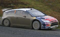 Citroen C4 WRC rally car