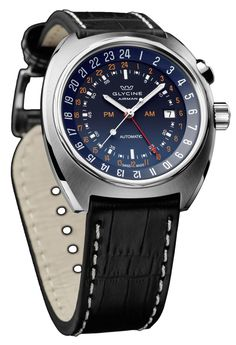 Glycine Watch Airman SST 12 Watch available to buy online from with free UK delivery. Old Watches, Watches For Men, Glycine Airman, Most Beautiful Watches, Stylish Watches, Mechanical Watch, Watch Case, Seiko, Omega Watch