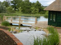 Natural swimming pools - no need for chlorine, plants do the work.