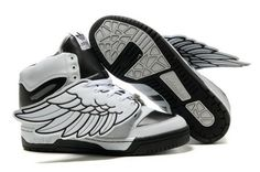 Adidas Jeremy Scott Wings Black White