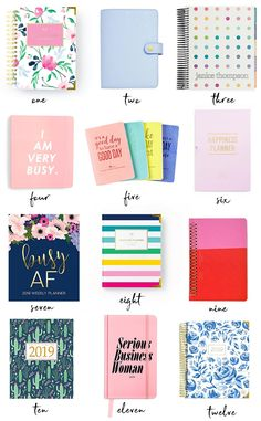 Best Planners for Working Women: 2019 Annual Planner Round-Up Best Planner For College, Best Weekly Planner, Mom Planner, Cute Planner, Teacher Planner, Planner Pages, Happy Planner, Planner Ideas, 2015 Planner